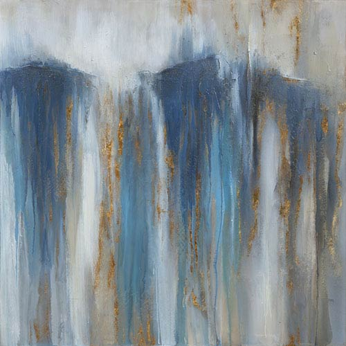 Yosemite Home Decor Rush of Water Canvas