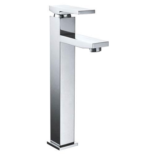 Polished Chrome Tall Single Handle Lavatory Faucet