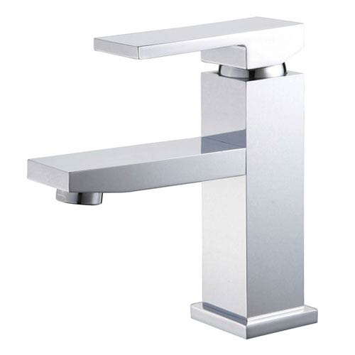 Polished Chrome Single Handle Lavatory Faucet