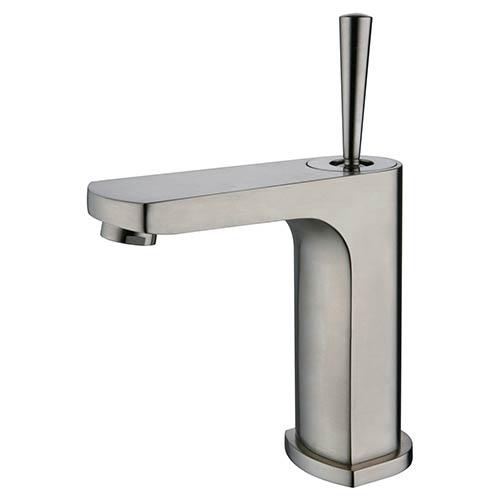 Yosemite Home Decor Brushed Nickel Single Handle Lavatory Faucet