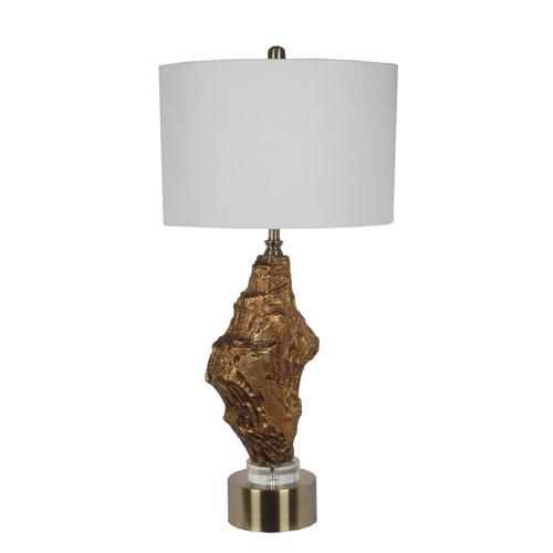 Privilege Crystal Base Rock Table Lamp 13122 Bellacor