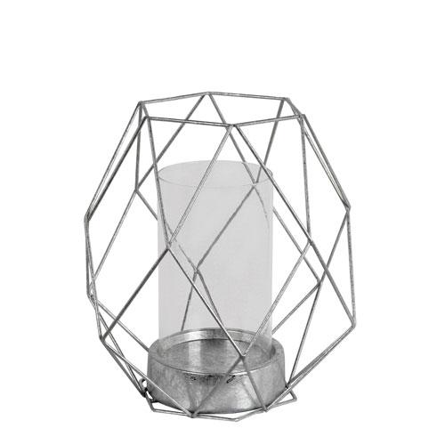 Silver Large Candleholder