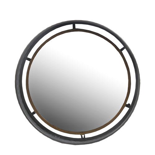 Metal Medium Round Wall Mirror