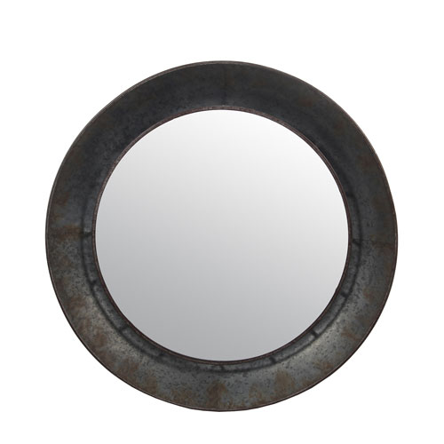 Galvanized Wall Mirror