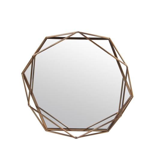 Iron Bronze Medium Wall Mirror