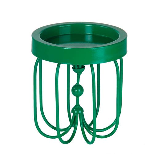 Green Small Iron Candleholder
