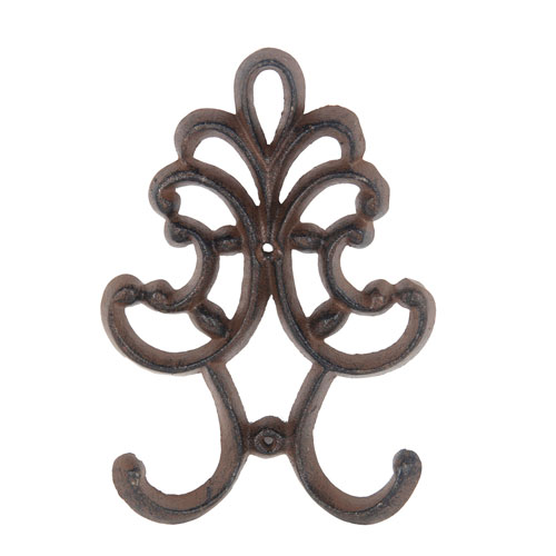 Brown Decorative Wall Hook