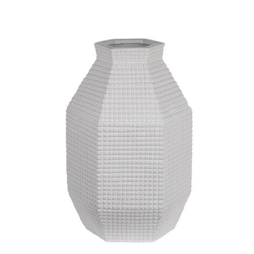 White Large Ceramic Vase