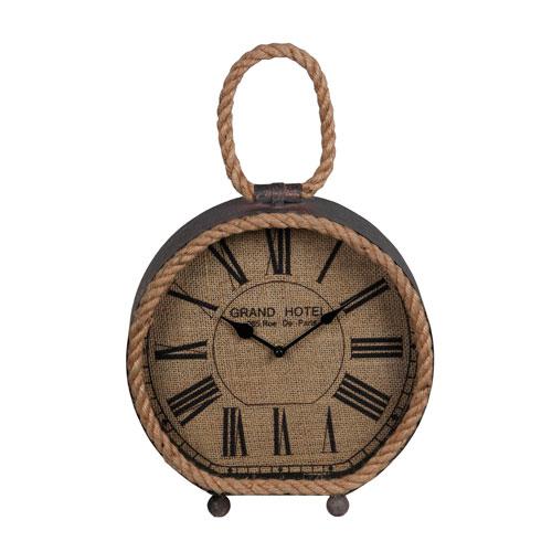 Brown Table Clock