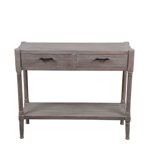 Privilege Winter Melody Two-Drawer Console Table