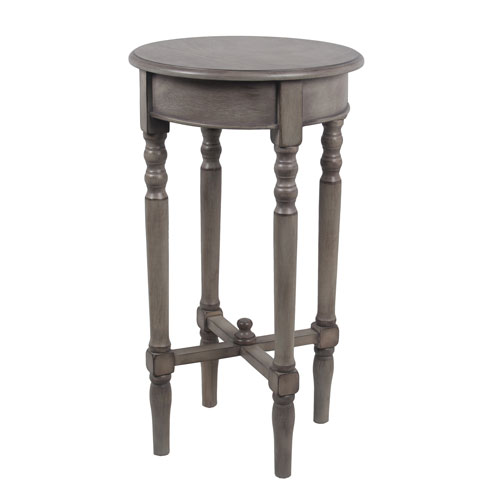 Stone Wash Round Accent Table