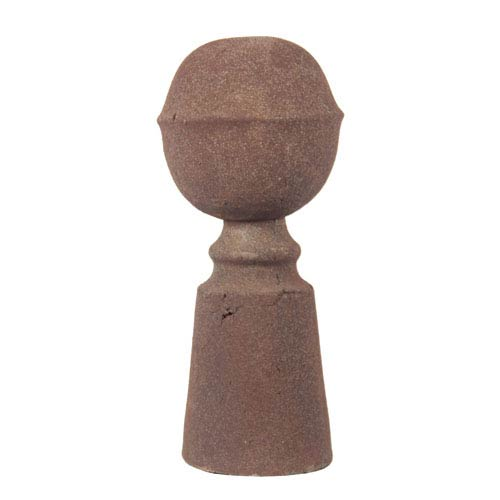 Rusted Small Ceramic Finial