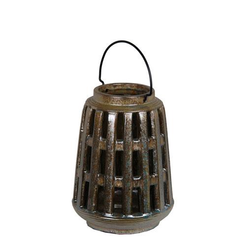 Bronze Ceramic Lantern