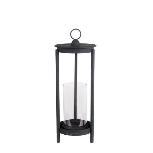 Black Large Metal Lantern