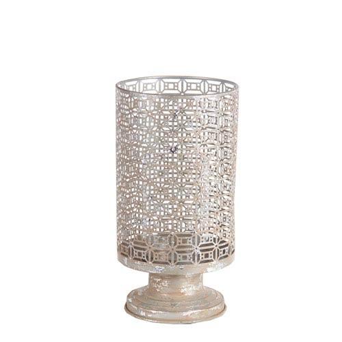 Silver Large Iron Candleholder