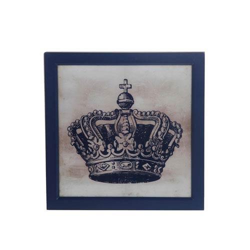 Gray Crown III: 18 x 18-Inch Wall Art