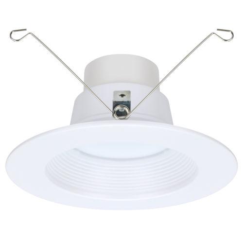 Spektrum White Six-Inch LED Mesh Full Recessed Light