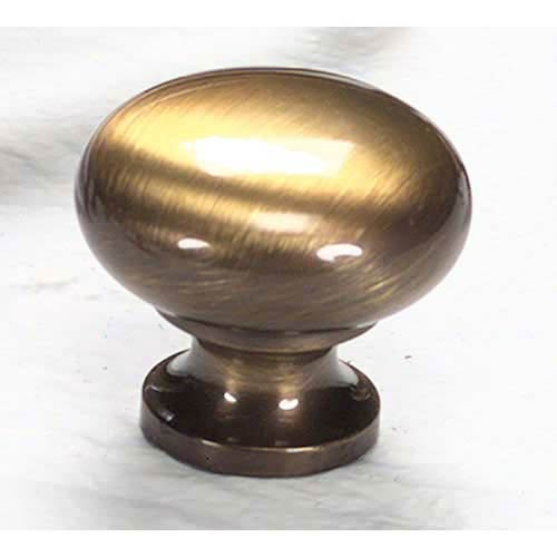 Traditional Designs Antique Brass Circle Knob