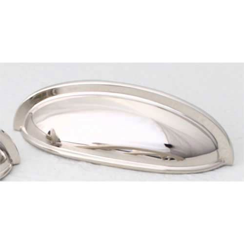 Traditional Designs Polished Nickel Cup Pull