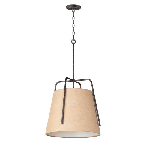Pitchfork Oil Rubbed Bronze One-Light Pendant