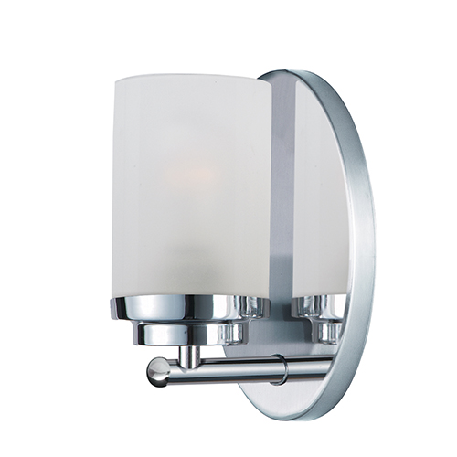 Corona Polished Chrome Four-Inch One-Light Bath Sconce