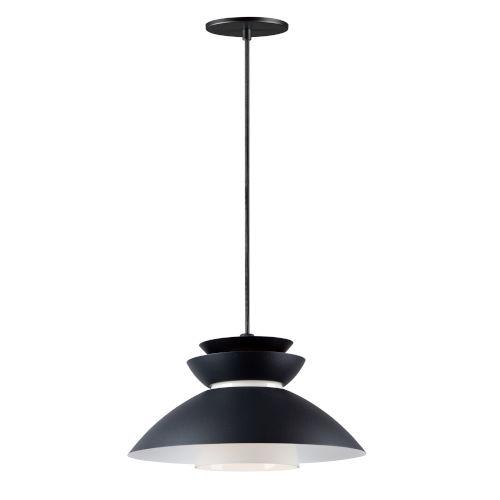 Nordic Black One-Light Pendant