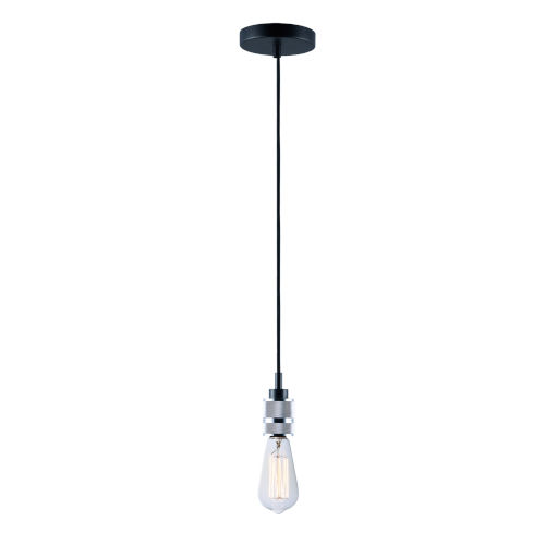 Swagger Polished Chrome Two-Inch One-Light Mini Pendant