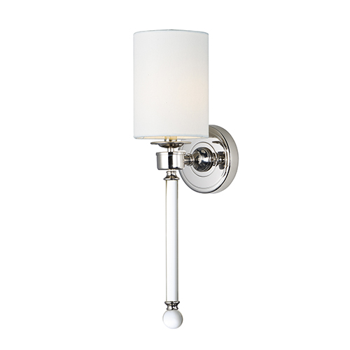 Lucent Polished Nickel Five-Inch One-Light Wall Sconce