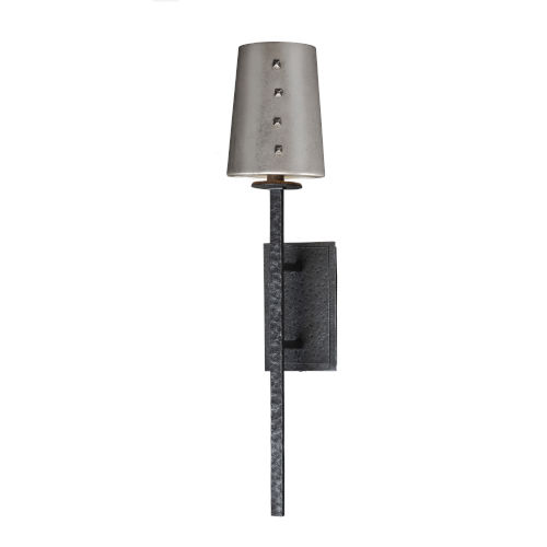 Anvil Natural Iron Eight-Inch One-Light Wall Sconce