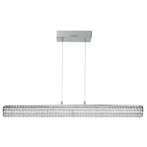Meteor LED Polished Chrome 36-Inch One-Light Pendant