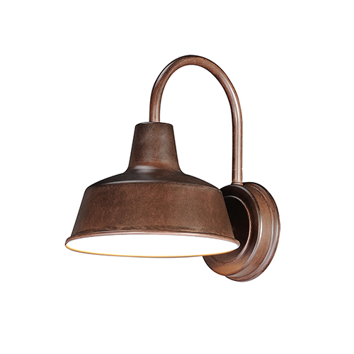 Pier M Empire Bronze Eight-Inch One-Light Outdoor Wall Mount Dark Sky