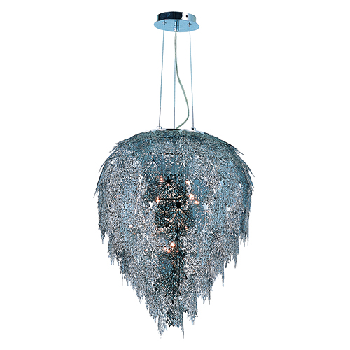 Vineyard Polished Chrome 18-Inch LED Pendant