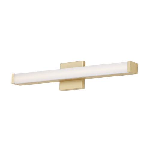 Gold 24-Inch LED ADA Bath Bar Title 24