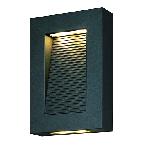 Avenue LED Architectural Bronze 10-Inch Four-Light Dark Sky/ADA Outdoor Wall Mount