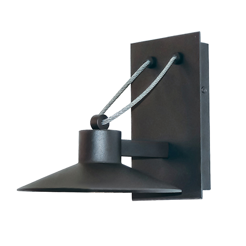 Civic Architectural Bronze 13-Inch LED Outdoor Wall Mount Dark Sky