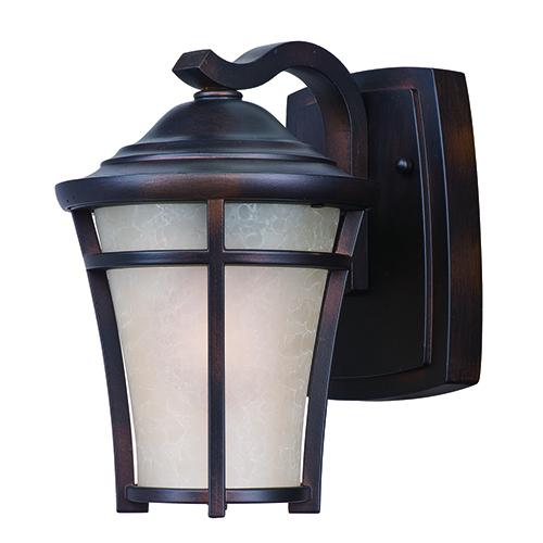 Balboa DC LED E26 Copper Oxide Six-Inch One-Light Outdoor Wall Mount