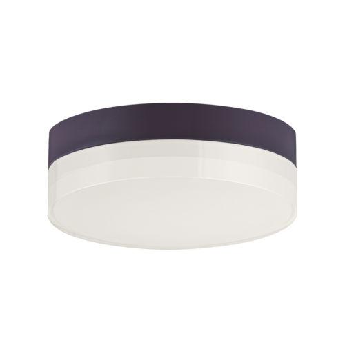 Illuminaire Ii Bronze One-Light LED Flush Mount with Acrylic Shade