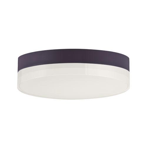 Illuminaire Ii Bronze One-Light LED Flush Mount with Acrylic Shade 3000 Kelvin