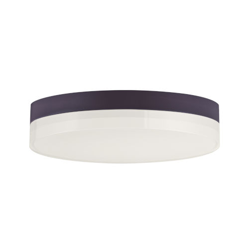 Illuminaire Ii Bronze One-Light LED Flush Mount with 3000 Kelvin 1270 Lumens