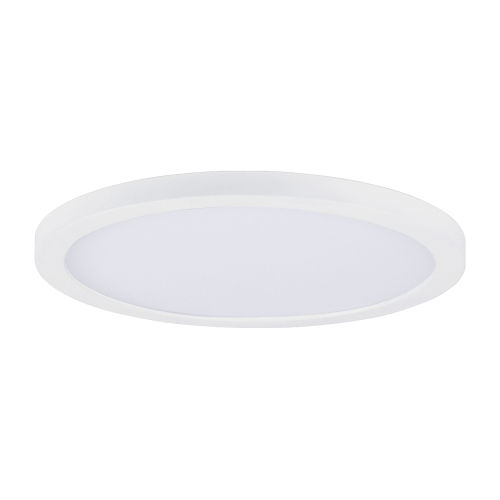 Chip White Round LED Flush Mount