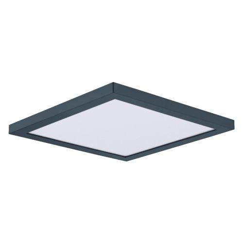 Chip Black Nine-Inch Square LED Flush Mount
