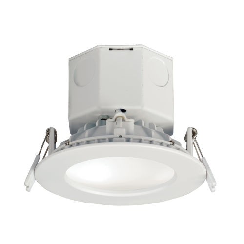 Cove White 4-Inch 4000K LED Recessed Downlight Title 24
