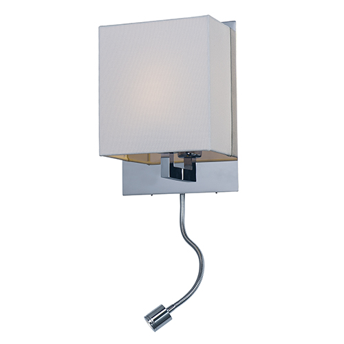 Hotel Polished Chrome Eight-Inch LED Wall Sconce
