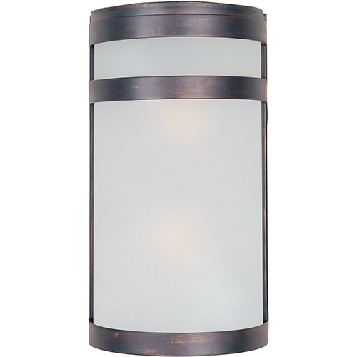 Maxim Lighting International Oil Rubbed Bronze Two-Light LED ADA Wall Sconce