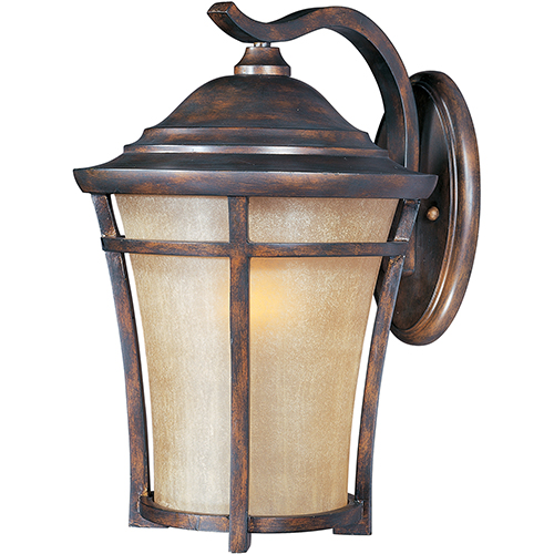 Balboa VX LED E26 Copper Oxide 12-Inch One-Light Outdoor Wall Mount