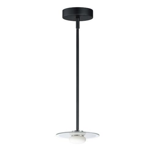 Helio Black One-Light LED Mini Pendant
