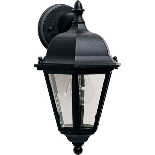 Westlake Black One-Light Eight-Inch Outdoor Wall Sconce