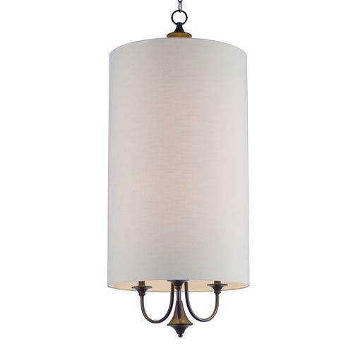 Maxim Lighting International Bongo Oil Rubbed Bronze Six-Light Pendant