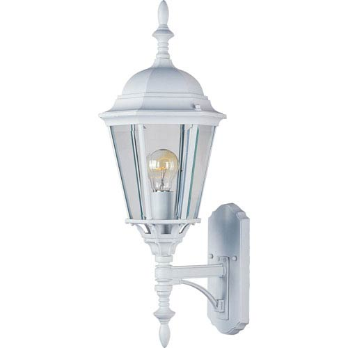 Maxim Lighting International Westlake White Cast One-Light Outdoor Wall Lantern