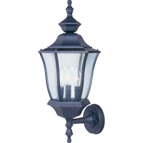 Maxim Lighting International Madrona Cast Three-Light Outdoor Wall Lantern